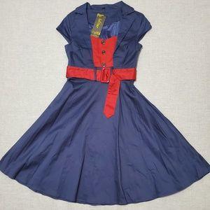 Vintage Inspired Swing Dress